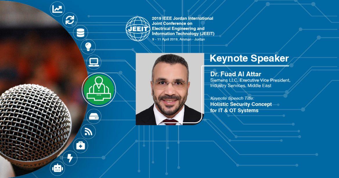 Keynote Speaker 3 - JEEIT